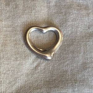 Tiffany & co. Elsa Peretti Open Heart Pendant